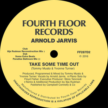 Arnold Jarvis - Take Some Time Out