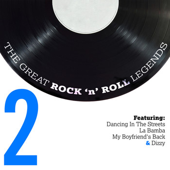 Various Artists - The Great Rock n Roll Legends Vol. 2