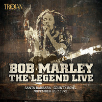 Bob Marley & The Wailers - The Legend Live - Santa Barbara County Bowl: November 25th 1979