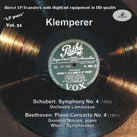 Otto Klemperer - LP Pure, Vol. 31: Klemperer Conducts Schubert & Beethoven