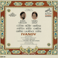 Original Broadway Cast Recording of Ivanov - Alexander H. Cohen Presents The Tennent Production Ivanov