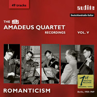 Amadeus Quartet - Romanticism (The RIAS Amadeus Quartet Recordings, Vol. V) (The RIAS Amadeus Quartet Recordings, Vol. V)