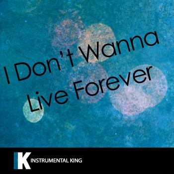 i dont wanna live forever download