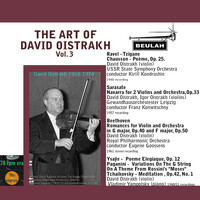 David Oistrakh - The Art of David Oistrakh, Vol. 3