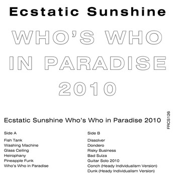 Ecstatic Sunshine - Who's Who in Paradise