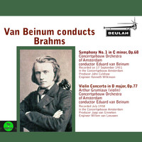 Eduard van Beinum - Van Beinum Conducts Brahms