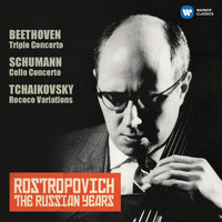 Mstislav Rostropovich - Schumann: Cello Concerto - Tchaikovsky: Rococo Variations (The Russian Years)