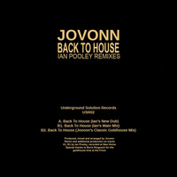 Jovonn - Back To House