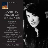 Martha Argerich - Martha Argerich in New York, 1966 (Live)