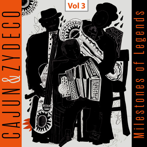 Dennis McGee Joe & Cleoma Falcon MP3 Album Milestones of Legends - Cajun & Zydeco, Vol. 3