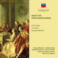 George Malcolm - Music For Four Harpsichords