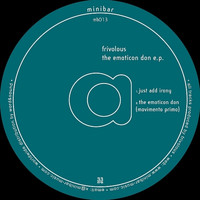 Frivolous - The Emoticon Don EP