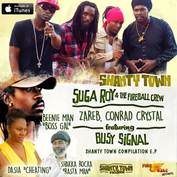 Various Artists - Shanty Town Riddim