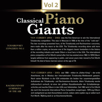 Van Cliburn - Classical - Piano Giants, Vol.2
