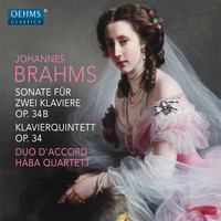 Lucia Huang - Brahms: Sonata for 2 Pianos in F Minor, Op. 34bis & Piano Quintet in F Minor, Op. 34