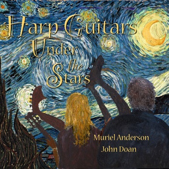 Muriel Anderson and John Doan - Harp Guitar Under the Stars