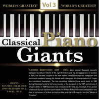 Artur Rubinstein - Classical - Piano Giants, Vol.3