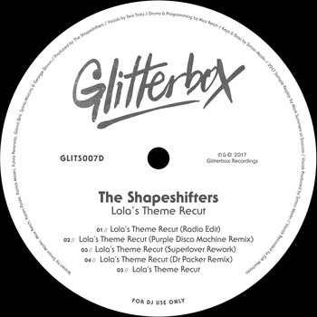 The Shapeshifters - Lola's Theme Recut