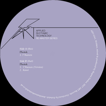 Photek - T'Raenon Remastered Edition