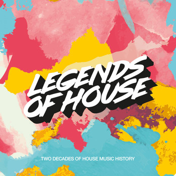 Various Artists - Legends of House - Two Decades of House Music History (Compiled and Mixed by Milk & Sugar)