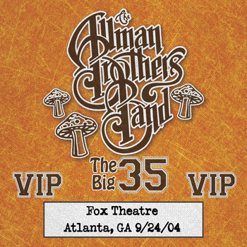 Allman Brothers Band - Fox Box: 3 Nights Live at Fox Theatre in Atlanta, Ga (September 24, 2004)