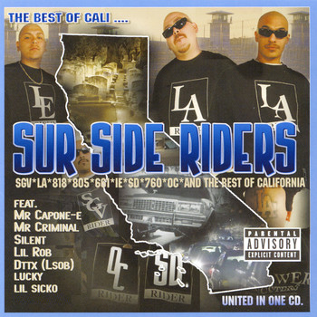Various Artists - The Best of Cali... Sur Side Riders (Explicit)