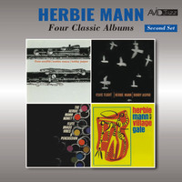 Herbie Mann - Four Classic Albums (Flute Souffle / Flute Flight / Flute, Brass, Vibes & Percussion / At the Village Gate) [Remastered]