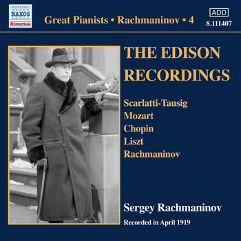 Sergei Rachmaninoff - Rachmaninoff: Piano Solo Recordings, Vol. 4