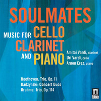 Arnon Erez - Soulmates: Music for Cello, Clarinet & Piano