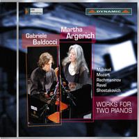 Martha Argerich - Works for Two Pianos