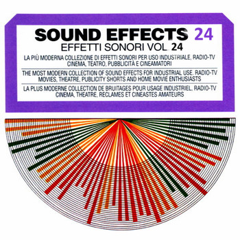 Sound Effects - Sound Effects No. 24