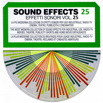 Sound Effects - Sound Effects No. 25