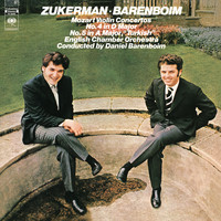 Daniel Barenboim - Mozart: Concerto No. 5 in A Major, K. 219 & Concerto No. 4 in D Major, K. 218 (Remastered)