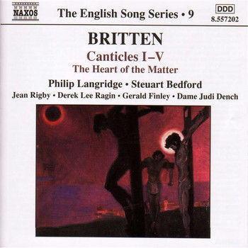 Various Artists - Britten: Canticles Nos. 1-5 / the Heart of the Matter (English Song, Vol. 9)