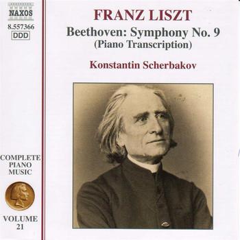 Liszt Complete Piano Music, Vol  21: Beethoven Symphony No  9  (Transcription)