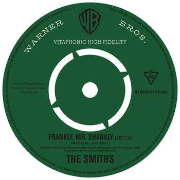The Smiths - Frankly, Mr. Shankly (Live)
