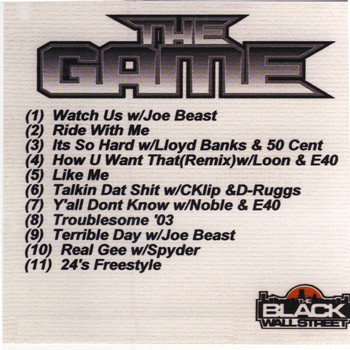 The Game - The Game Mix CD, Vol. 1