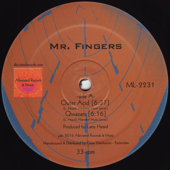 Mr. Fingers - Outer Acid EP