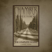 The complete works 1 early year chamber l for Chamber l orchestre de chambre noir