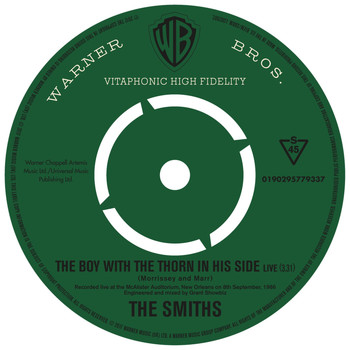 The Smiths - The Boy With the Thorn In His Side (Live)