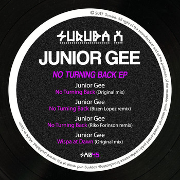 Junior Gee - No Turning Back EP