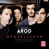 Quatuor Arod - Mendelssohn: String Quartet No. 2 in A Minor, Op. 13: III. Intermezzo