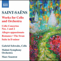 Gabriel Schwabe / Malmö Symphony Orchestra / Marc Soustrot - Saint-Saëns: Works for Cello & Orchestra