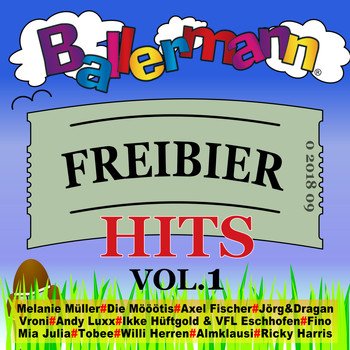 Various Artists - Ballermann Freibier Hits, Vol. 1 (Explicit)