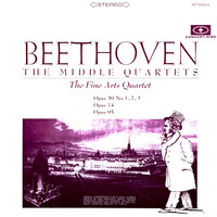 Fine Arts Quartet - Beethoven: The Middle Quartets (Remastered from the Original Concert-Disc Master Tapes)