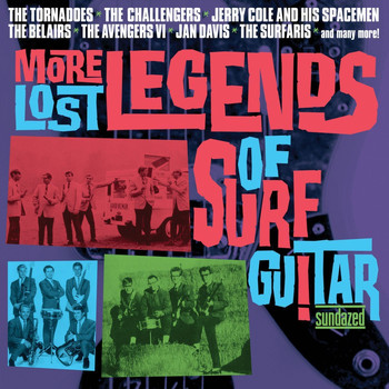 Various Artists - More Lost Legends of Surf Guitar