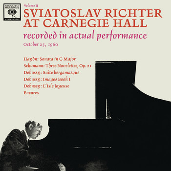 Sviatoslav Richter - Sviatoslav Richter Recital -  Live at Carnegie Hall, October 25, 1960