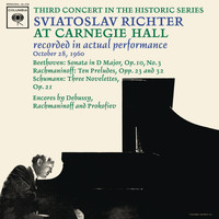 Sviatoslav Richter - Sviatoslav Richter Recital -  Live at Carnegie Hall, October 28, 1960