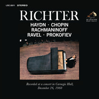 Sviatoslav Richter - Sviatoslav Richter Recital -  Live at Carnegie Hall, December 26 1960