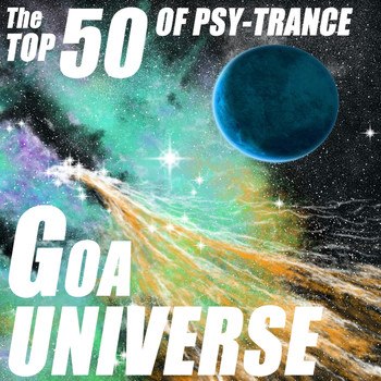 Various Artists - Goa Universe - The Top 50 Of Psychedelic Trance